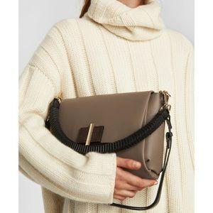 Zara shoulder/crossbody bag taupe nwt